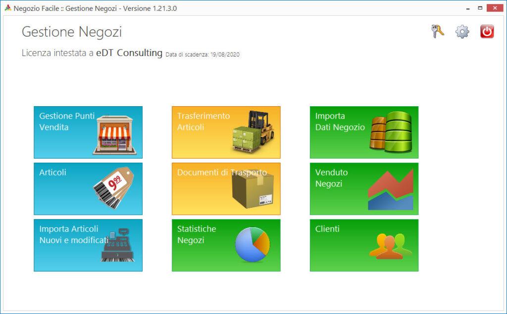 Gestione Negozi: software per catene e franchising